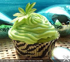 green bánh nướng xốp, muffin