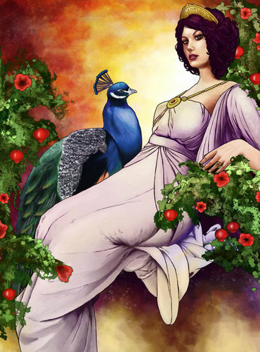 Greek Mythology wallpaper containing a bouquet titled hera