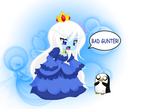 ice queen with gunter