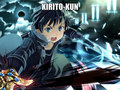 k i r i t o  - anime fan art
