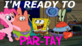 let's party - spongebob-squarepants photo