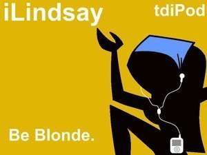 lindsay ipod be blond