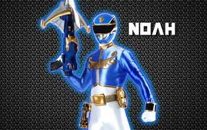 power rangers megaforce blue ranger achtergrond