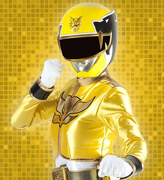 yellow power ranger megaforce - photo #11