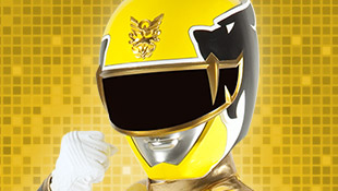 power rangers megaforce yellow