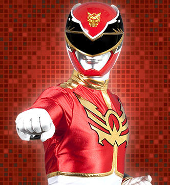 red power ranger megaforce