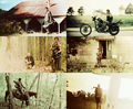 screencap meme: Daryl Dixon + full body  - the-walking-dead fan art
