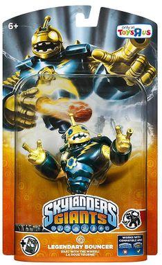 skylanders figures legendary