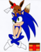 sonic and eevee - sonadow icon