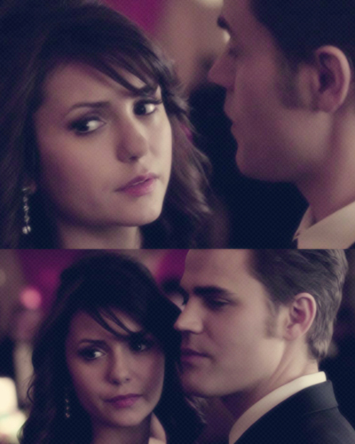 Stefan & Elena fondo de pantalla probably with a business suit and a portrait called stelena 4x19