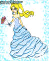 the blue bride - the-powerpuff-girls fan art