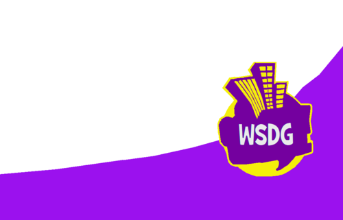 wsdg lOGO Yellow-Purple Japan, China, And Korea Only