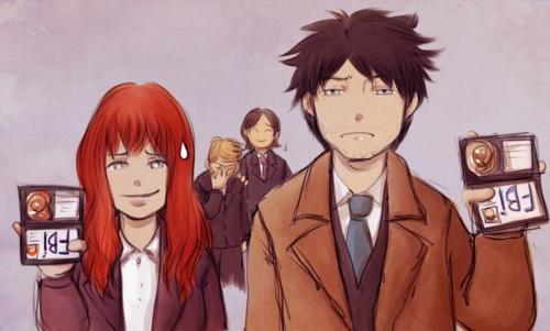 Charlie Bradbury Hintergrund containing Anime called <3