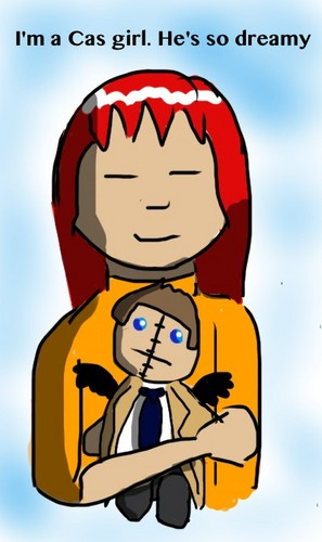 Charlie Bradbury Hintergrund possibly containing Anime entitled <3