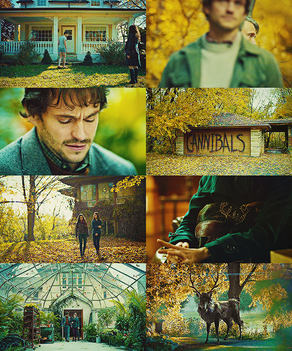 { Hannibal color meme } potage + green/yellow