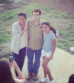     Josh with fans in Panama filming Paradise Lost - josh-hutcherson photo