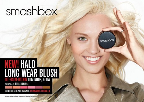 Antm winners 壁紙 entitled Laura James for Smashbox Cosmetics