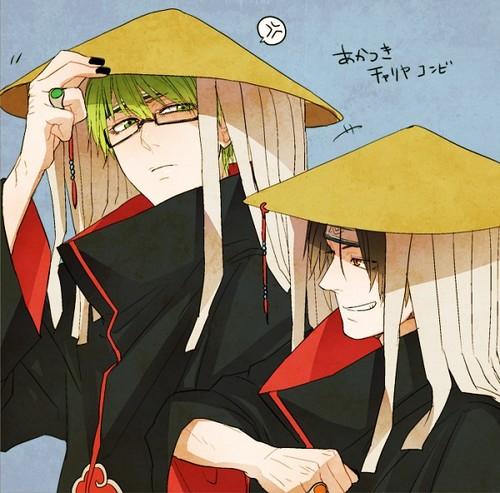 ~Midorima and Takao~ (Naruto Cosplay)
