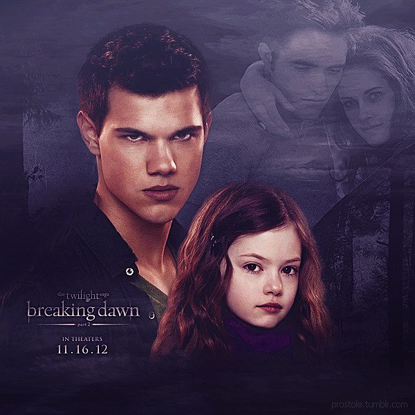 jacob and nessie - photo #8