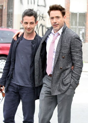 Robert Downey Jr. and a friend step out in New York City