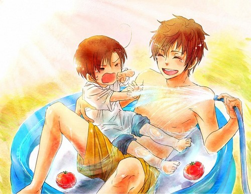 ~Spain and Chibi-Romano~