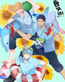 ~Summer With Kise, Aomine, and Kuroko~
