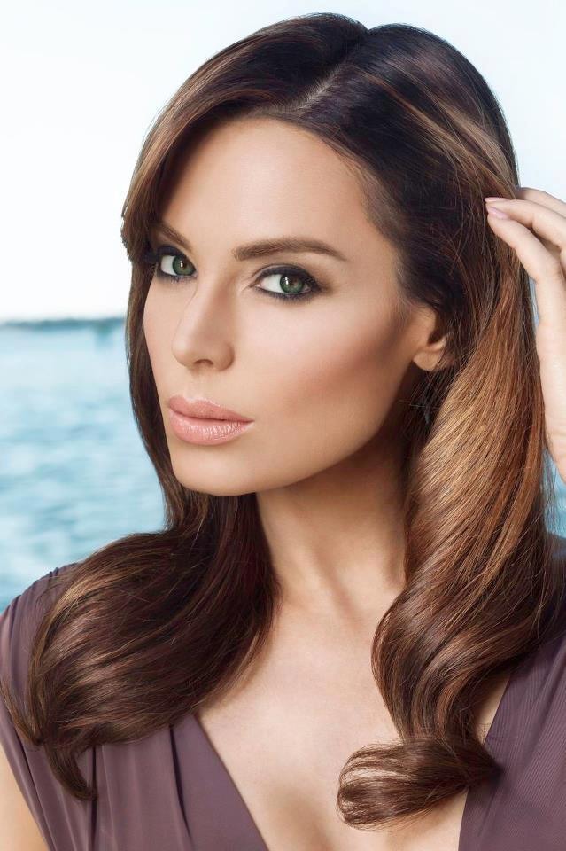 """Yoanna House for """"The Keratheraphy Hair Campaign"""" spring 2013."""
