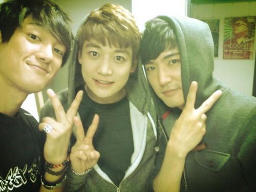 130501 [PIC] Minho Junto a gaio, jay Park y Danny Ahn