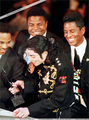 1997 Rock And Roll Hall Of Fame Induction Ceremony - michael-jackson photo