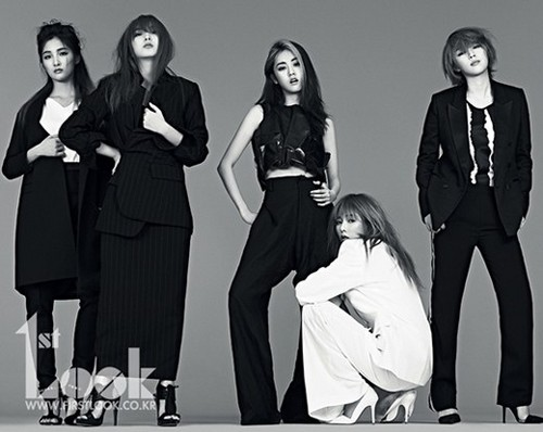 4minute - 1st Look May 2013