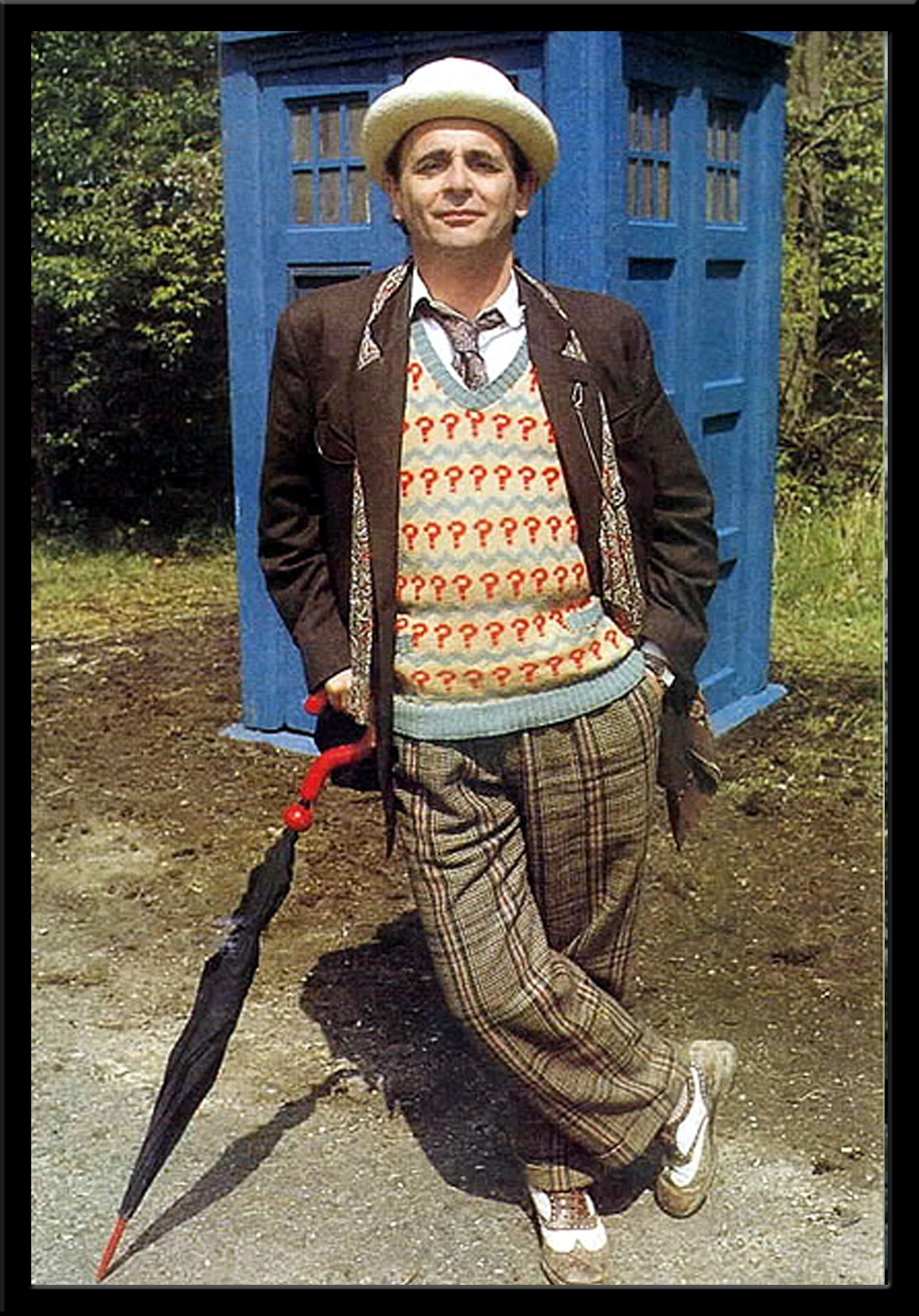 How To Dress Like The Seventh Doctor  Anglophenia  BBC