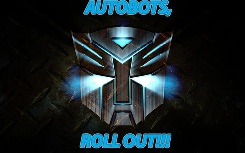 Transformers wallpaper titled AUTOBOTS, ROLL OUT!!!
