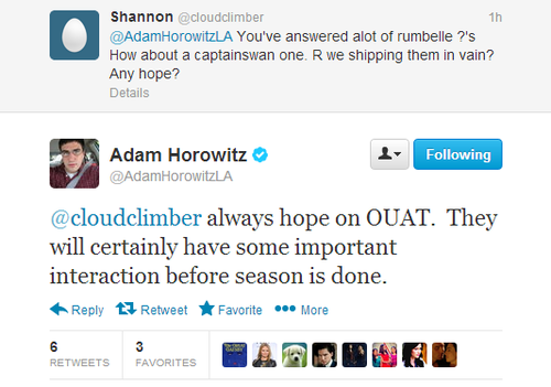 Adam Horowitz Teases CS Will Have 'Important Interaction' Before End of Season
