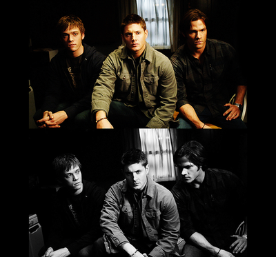 Adam, Dean and Sam
