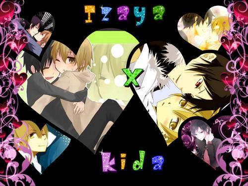 Adorble Izaya and Kida :3