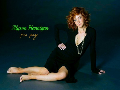 Alyson Hannigan wallpaper containing a leotard called Alyson Hannigan