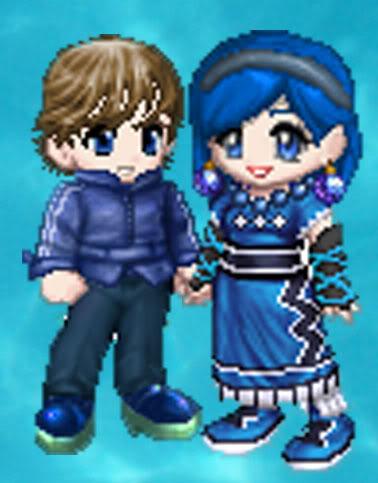 Ami(Amy) and Shin(Cye)