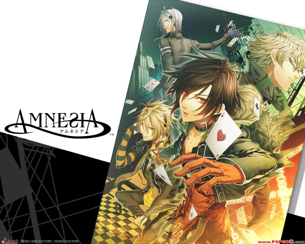 Amnesia Offical Wallpaper 1 Amnesia アムネシア Wallpaper Fanpop