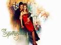 Angel &amp; Buffy - angel wallpaper