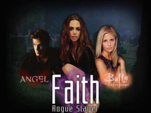 Angel , Faith & Buffy
