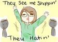 Anime Shippers - anime fan art