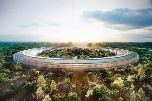 사과, 애플 Cupertino New Headquarters