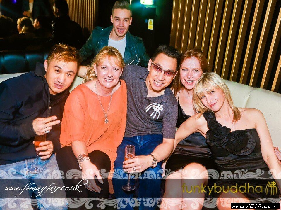 April 20th - Liam at Funky Buddha in Mayfair, London