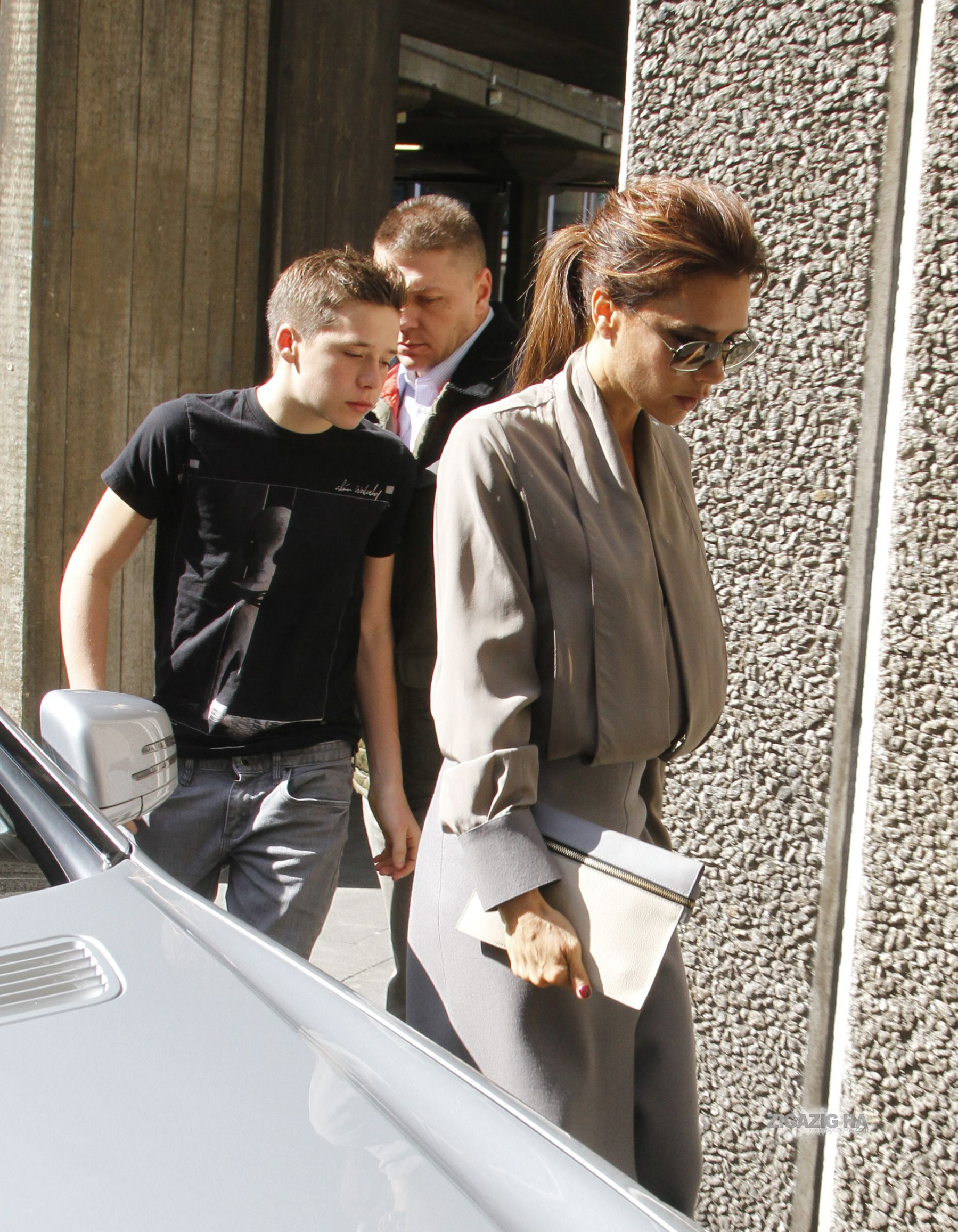 April 28th - Londra - Victoria arriving at the Vogue Festival