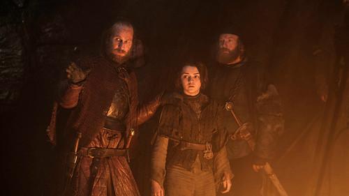 Arya Stark & Thoros of Myr