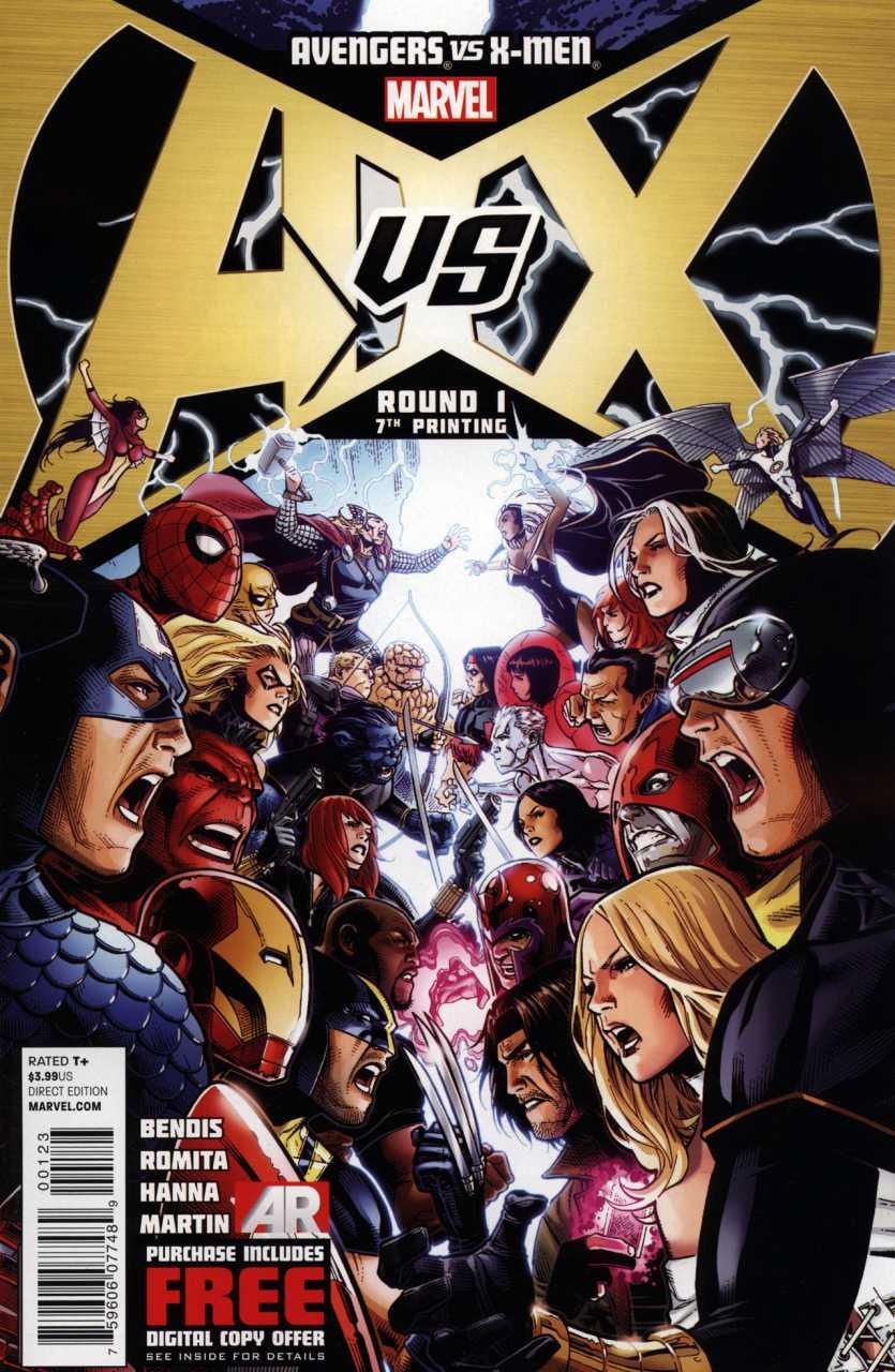 Avengers vs. X-men #1 - X-Men Photo (34356395) - Fanpop