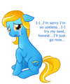 Aww... Poor IE pony! - my-little-pony-friendship-is-magic photo
