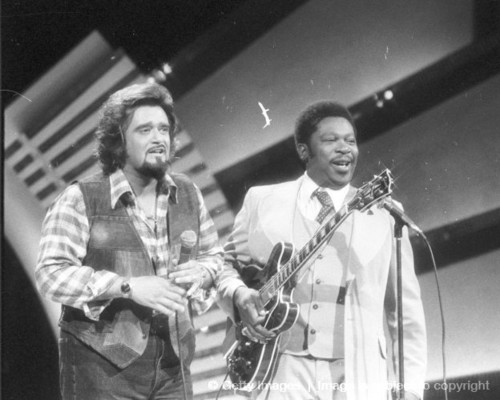 "B.B. King And Wolfman Jack On ""The Midnight Special"""