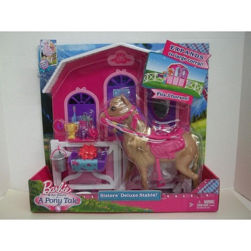 BAHSIAPT Sisters Deluxe Stable Toy