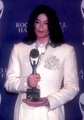Backstage At The 2001 Rock And Roll Hall Of Fame Induction Ceremony - michael-jackson photo